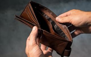 combien coute une faillite personnelle